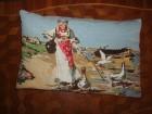 Ukrasni jastuk goblen rad Guscarica na Savi