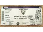 Ulaznica: Crvena zvezda - Lietuvos Rytas (EL 2013/14)