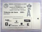 Ulaznica: Finale kupa Luksemburga u fudbalu 1992.
