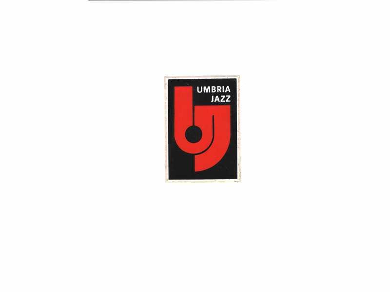 Umbria Jazz - nalepnica  7 x 10,5 cm