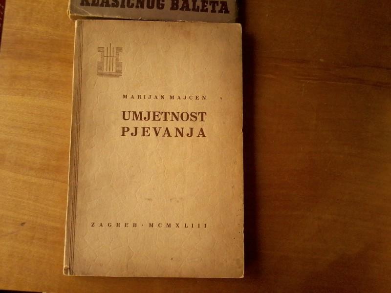 Umjetnost pjevanja,Marijan Majcen 1943 Zagreb