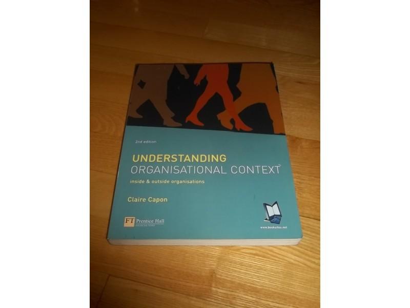 Understanding Organisational Context