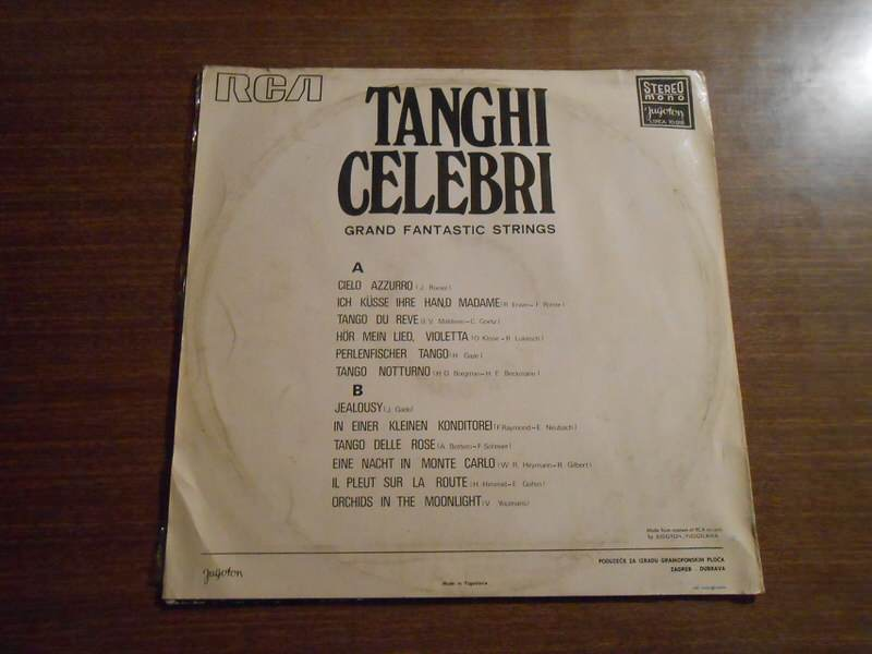 Unknown Artist - Tanghi Celebri Grand Fantastic Strings