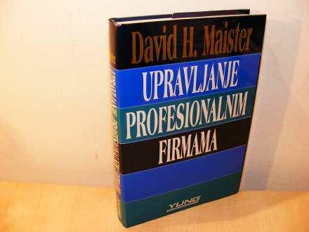 Upravljanje profesionalnim firmama (besplatna dostava)