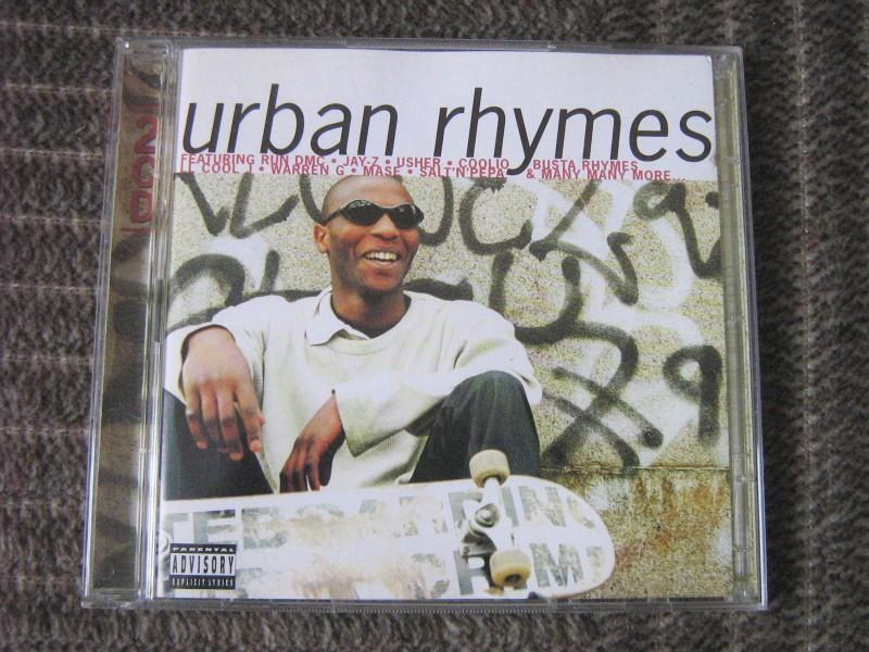 Urban Rhymes (Various Artists) 2xCD