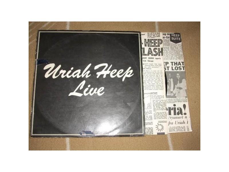 Uriah Heep Live 2LP