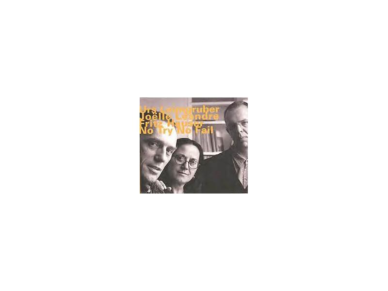 Urs Leimgruber, Joëlle Léandre, Fritz Hauser - No Try No Fail