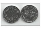 Uruguay 10 nuevos pesos 1989. UNC