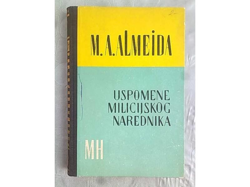 Uspomene milicijskog narednika-M.A.De Almeida