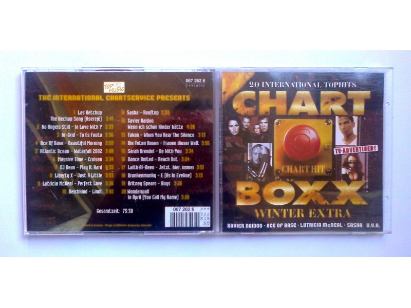 VA - 20 Chart Box Winter Extra 2002 (CD) Made Germany