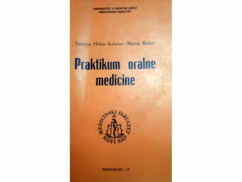 VALERIJA HILLIER-KOLAROV, PRAKTIKUM ORALNE MEDICINE