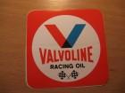 VALVOLINE RACING OIL - CRVENA SLOVA