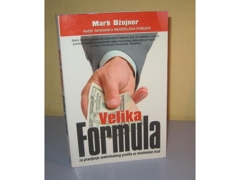 VELIKA FORMULA za pravljenje maksimalnog profita