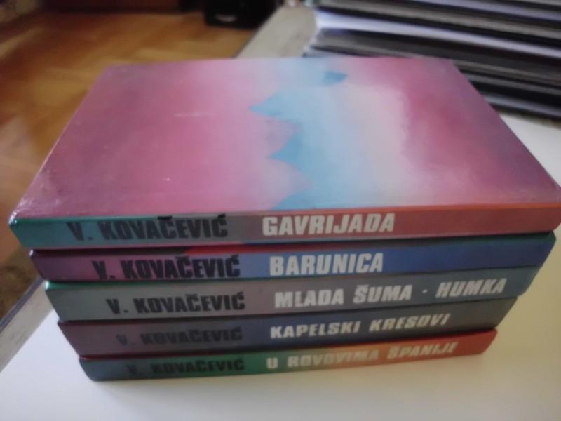 VELJKO KOVAČEVIĆ-1-5-(komplet)-RETKO u kompletu-