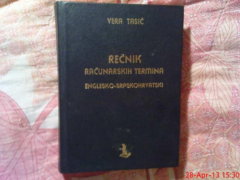 VERA TASIC - RECNIK RACUNARSKIH TERMINA - ENGLESKO - SR