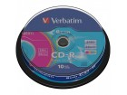 VERBATIM CD-R 8CM 210MB COLOUR (10 praznih diskova)