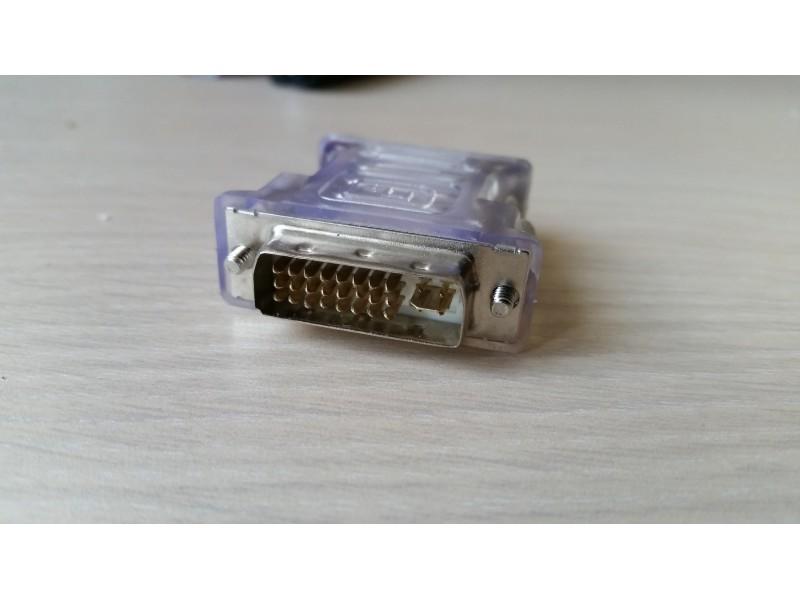 VGA - DVI adapter, 3 komada, NOVO!!!