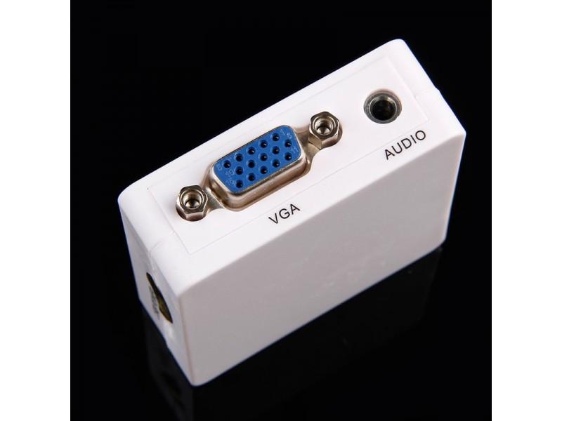 VGA i Audio na HDMI adapter VGA2HDMI