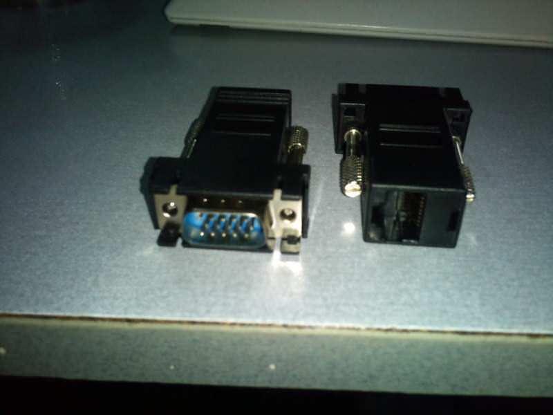 VGA na UTP lan kabal VGA do 100m mozda i vise!
