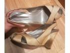 VIA SPIGA original- zlatne sandale 37-38