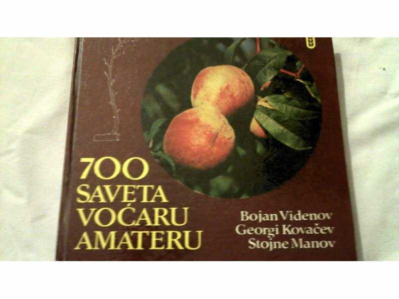 VIDENOV, 700 SAVETA VOĆARU AMATERU