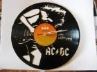 VINIL CLOCK-AC/DC