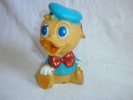VINTAGE RUBBER TOY, ART 436, 14CM, DISNEY PRODUCTION