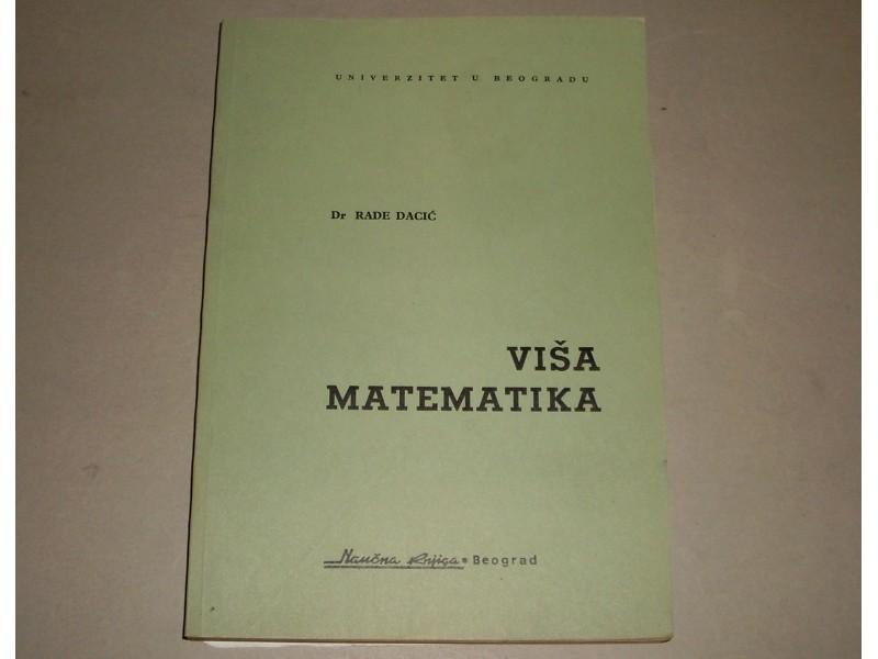 VISA MATEMATIKA - Rade Dacic