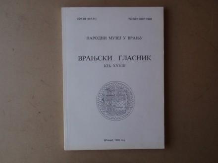 VRANJSKI GLASNIK knjiga XXVIII
