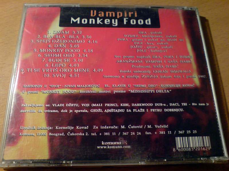 Vampiri: Monkey Food