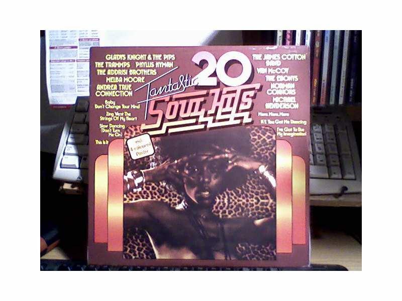 Varios Artist - 20 Fantastic Soul - Hits