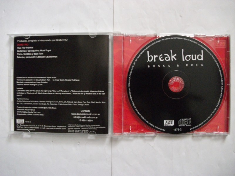 Varios Artistas - BREAK LOUD bossa & rock