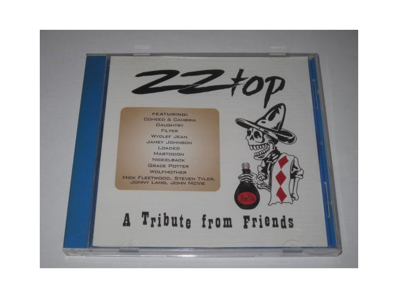 Various ‎– ZZ Top - A Tribute From Friends (CD)
