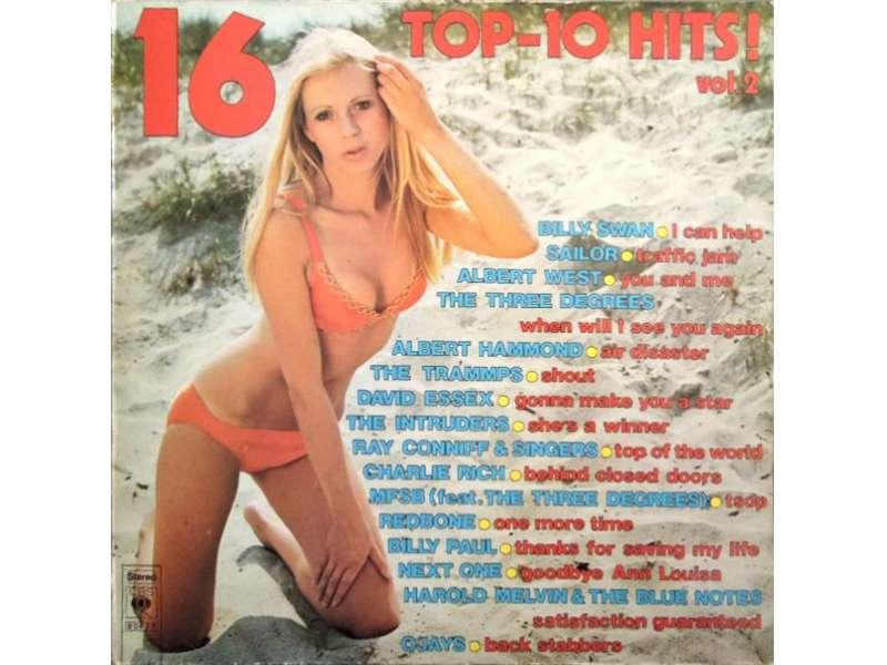 Various - 16 Top-10 Hits! (Vol. 2)