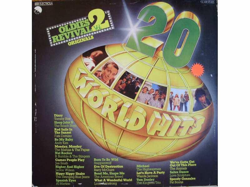 Various - 20 World Hits - Oldies Revival Vol. 2