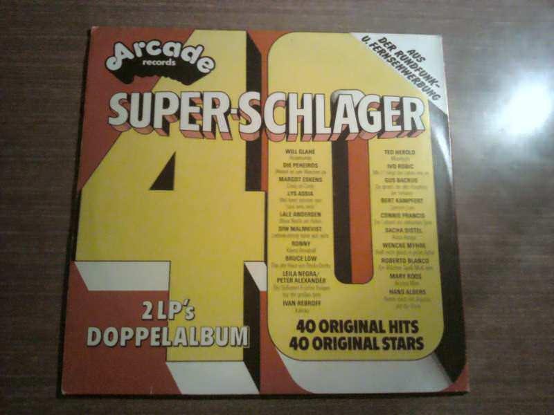 Various - 40 Super-Schlager