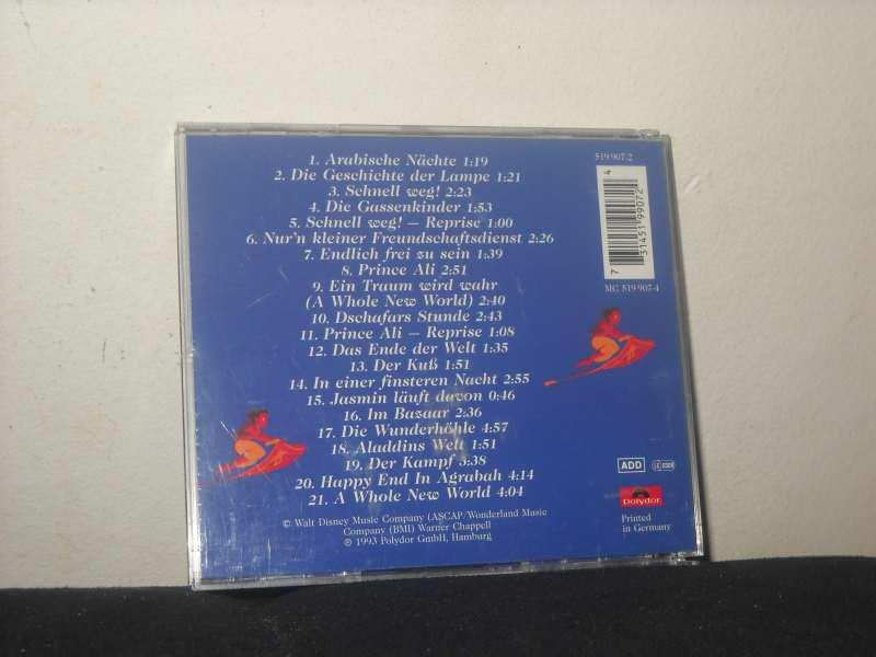 Various - Aladdin (Film Soundtrack Deutsche Originalversion)