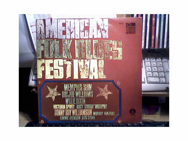 Various - American Folk Blues Festival, LP