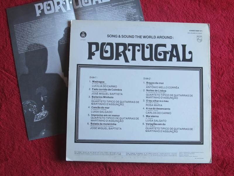 Various Aritsts - Song & Sounds The World Around: PORTUGAL