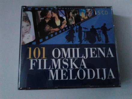 Various  Artists - 101 omiljena filmska melodija