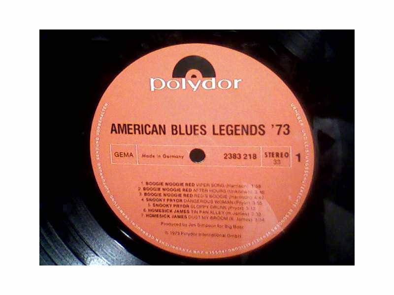 Various  Artists - American Blues Legends 73