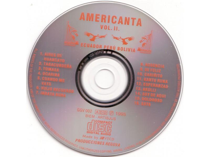 Various  Artists - Americanta - Vol. II