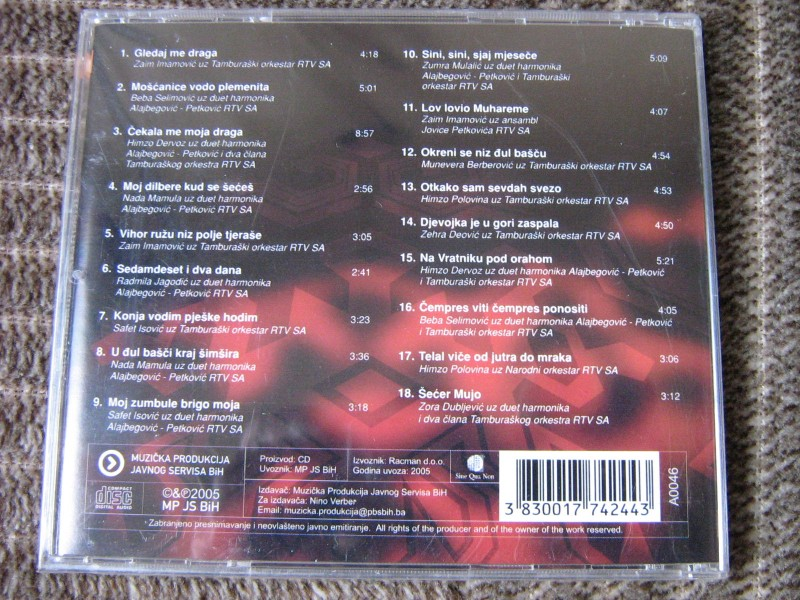 Various  Artists - Antologija BH Sevdalinke 1