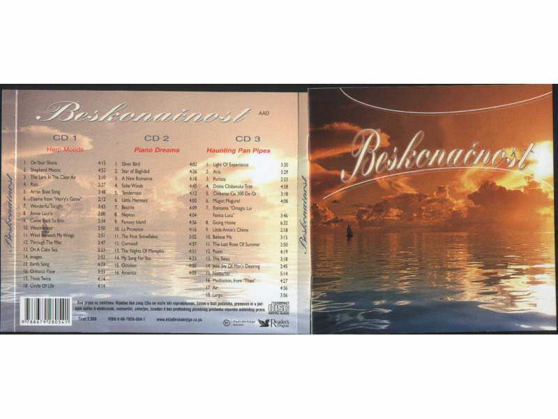 Various  Artists - BESKONACNOST - 3 CD