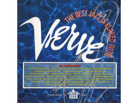 Various  Artists - Best Jazz Is Played With Verve