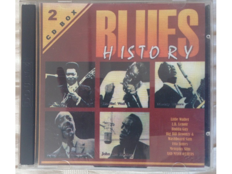 Various  Artists - Blues History