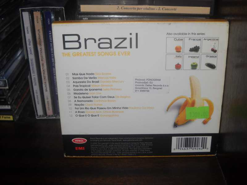 Various  Artists - Brazil The Greatest Songs Ever