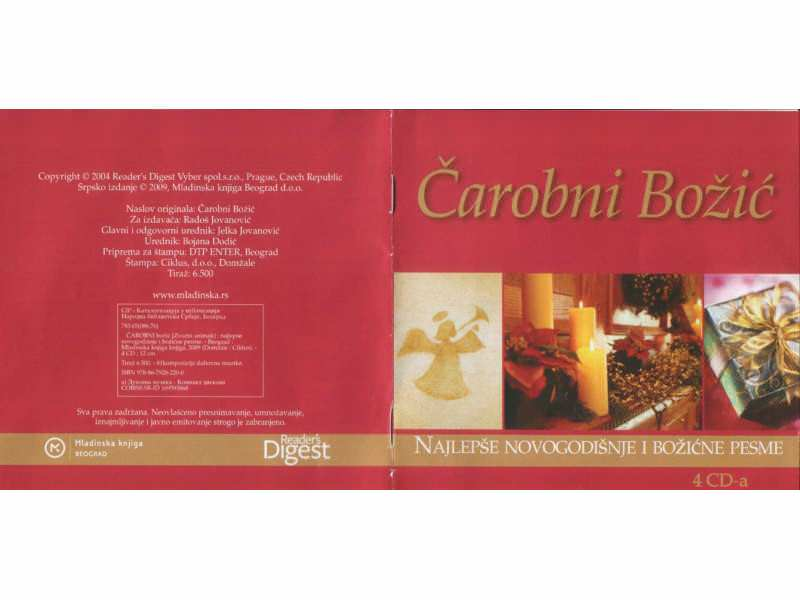 Various  Artists - CAROBNI BOZIC - 4 cd
