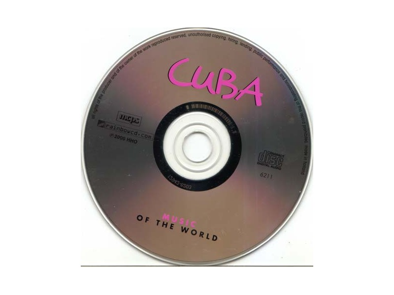 Various  Artists - Cuba (Music of the World)