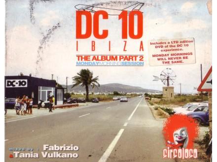 Various  Artists - DC 10 ibiza The Album Part 2 2xCD + DVD